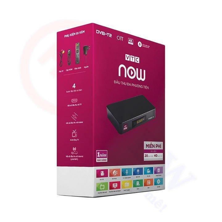 VTC Now Hybrid 01 - đầu thu kết hợp DVB-T2 và Internet OTT | HDnew - Chia sẻ đam mê