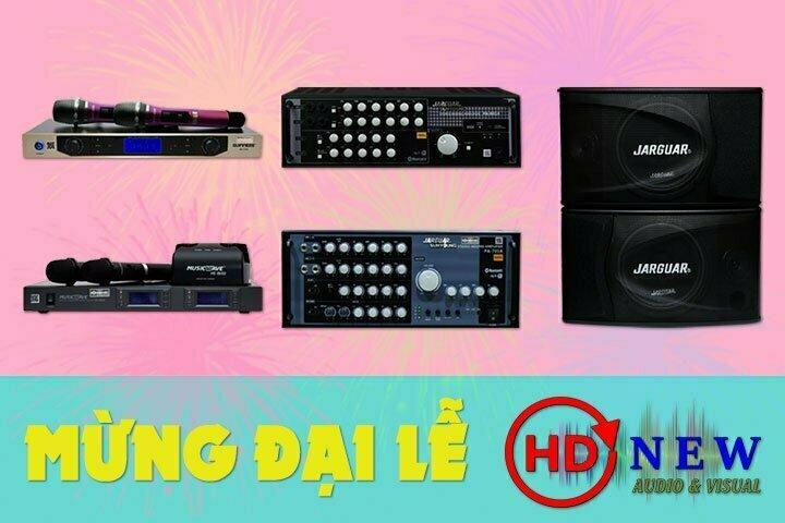 Mừng đại lễ, giảm giá 15% hàng loạt thiết bị âm thanh   HDnew - Chia sẻ đam mê