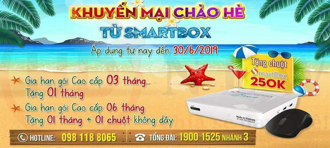 Khuyến mại chào hè 2019 từ VNPT SmartBox! | HDnew - Chia sẻ đam mê