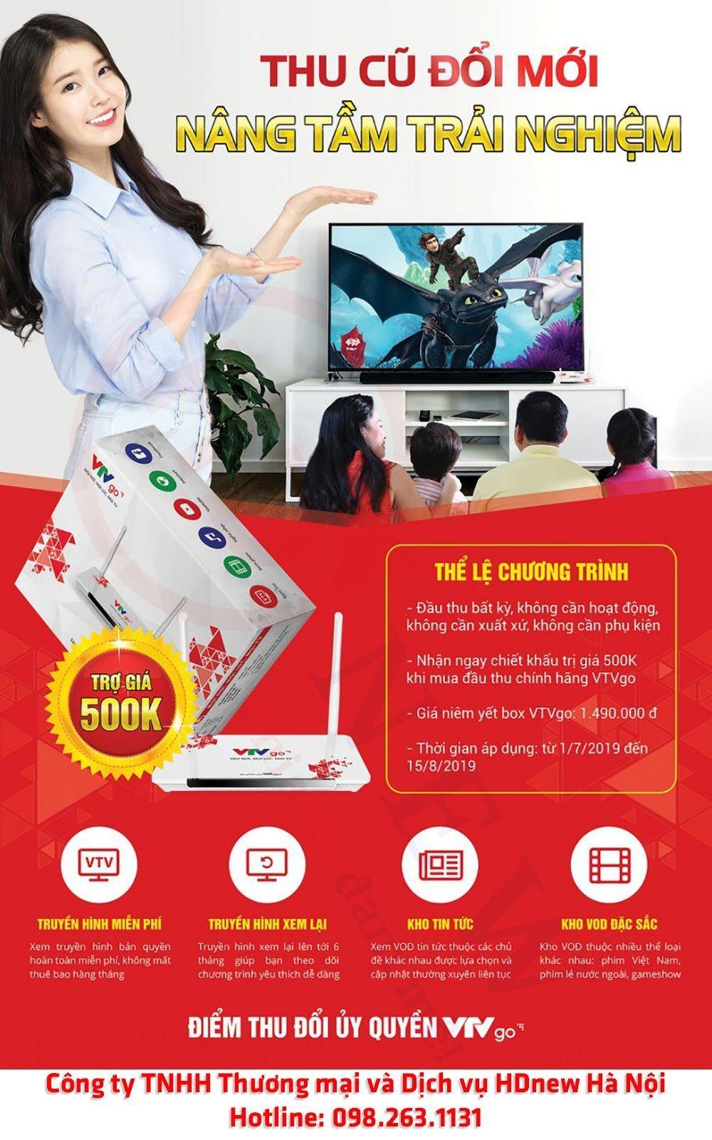 Thu cũ đổi mới, nâng tầm trải nghiệm cùng VTVGo   HDnew - Chia sẻ đam mê