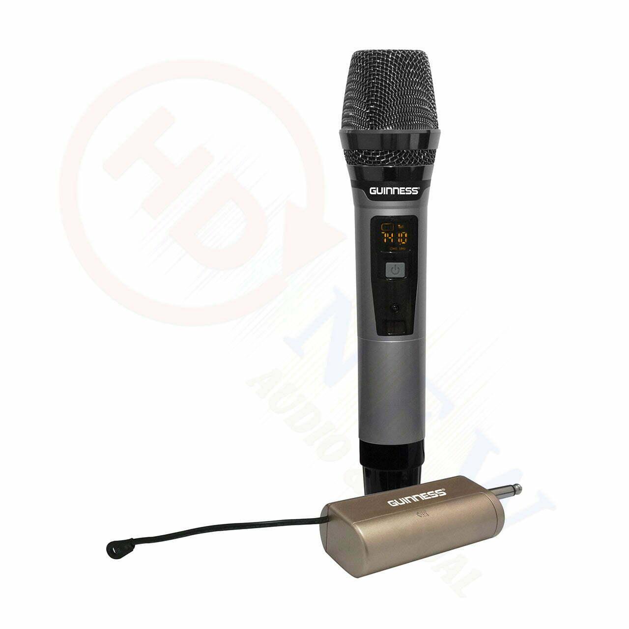 Guinness M-810S | Micro không dây | HDnew - Chia sẻ đam mê