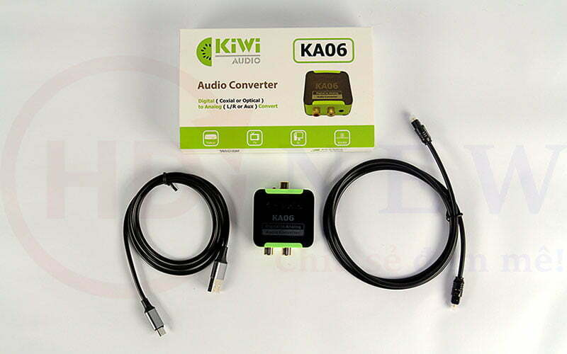 Bộ chuyển đổi âm thanh Digital sang Analog Kiwi KA-06 | HDnew - Chia sẻ đam mê