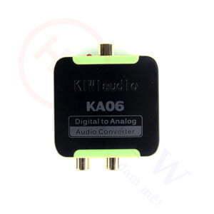 Kiwi KA06 | Bộ chuyển đổi âm thanh Digital sang Analog | HDnew - Chia sẻ đam mê