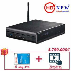 Trọn bộ Đầu HiMedia Q10 Pro và Ổ cứng gắn trong 3TB | HDnew - Chia sẻ đam mê