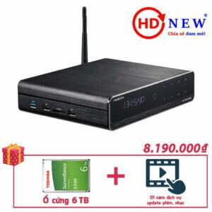 Trọn bộ Đầu HiMedia Q10 Pro và Ổ cứng gắn trong 4TB | HDnew - Chia sẻ đam mê