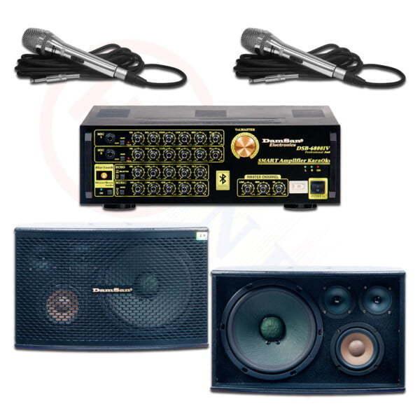 Bộ âm thanh karaoke HD02 | HDnew Audio