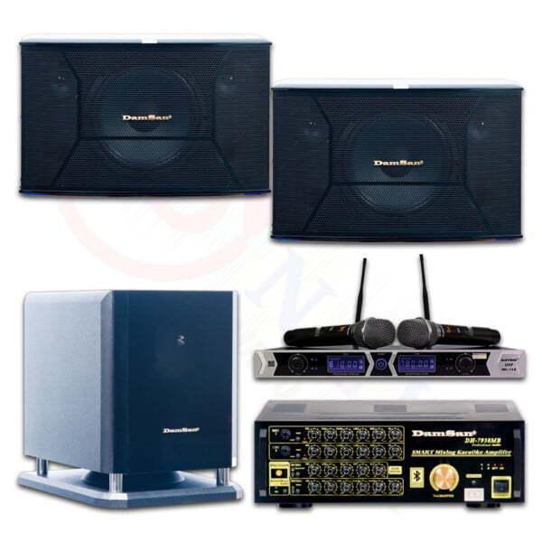 Bộ âm thanh karaoke MB79   HDnew Audio