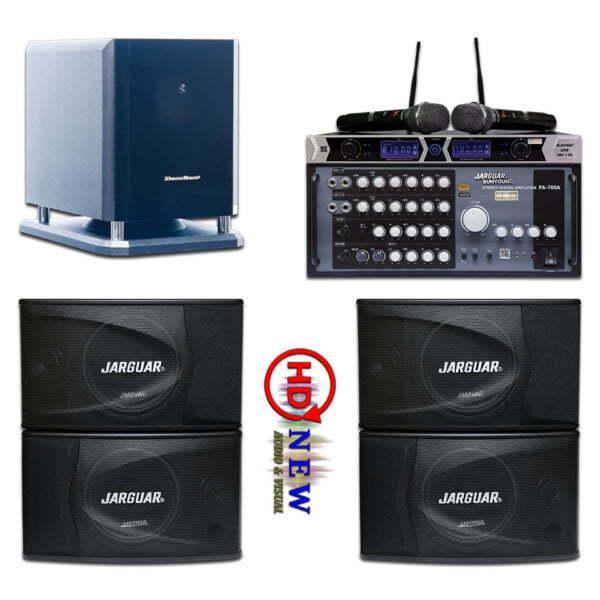Bộ âm thanh karaoke VIP02 | HDnew Audio