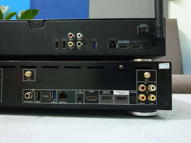 Những điểm khác biệt của Zappiti Pro 4K HDR so với Zappiti Duo 4K HDR | HDnew - Chia sẻ đam mê
