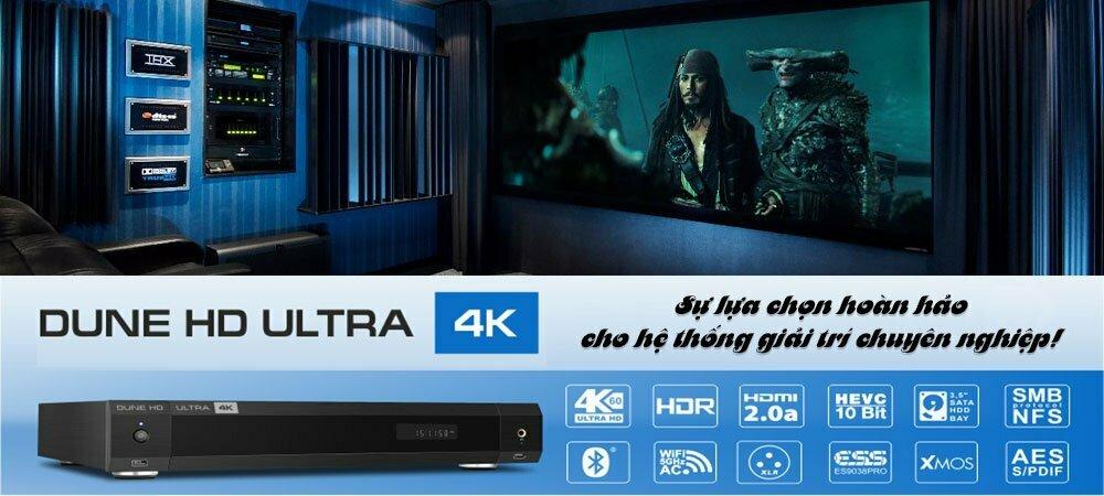 Đầu phát Dune HD Ultra 4K (Banner) | HDnew - Chia sẻ đam mê