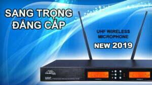 HiMedia Home UHX5 | Micro karaoke không dây | HDnew Audio