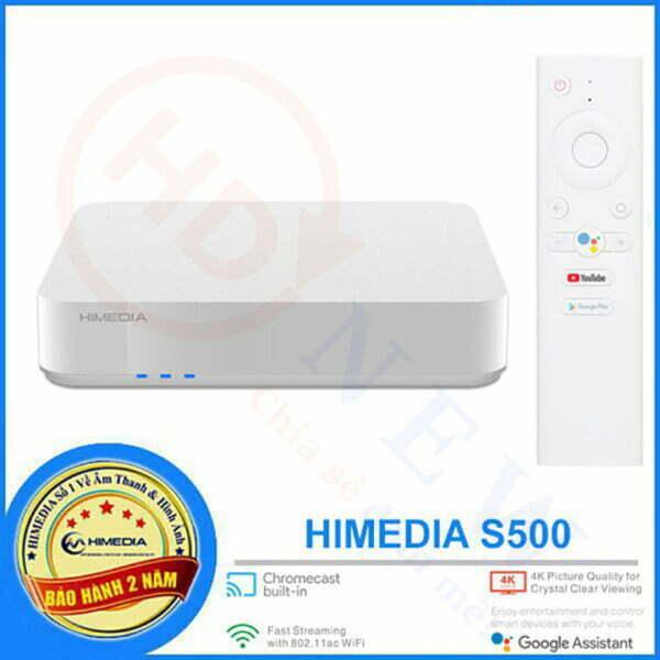 HiMedia S500 | Android TV 9.0 chính chủ Google | HDnew - Chia sẻ đam mê