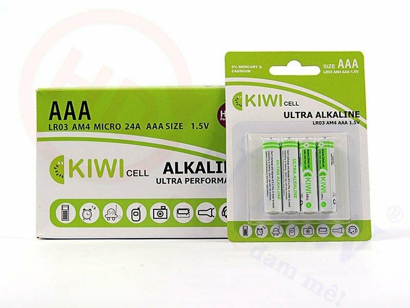 Pin Alkaline AAA Kiwi LR03-C4 | HDnew - Chia sẻ đam mê