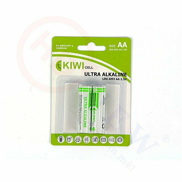 Pin Alkaline AA Kiwi LR6-C2 | HDnew - Chia sẻ đam mê