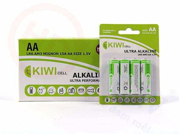 Pin Alkaline AA Kiwi LR6-C4 | HDnew - Chia sẻ đam mê