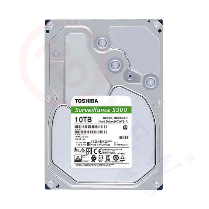 Ổ cứng Toshiba S300 10TB (HDWT31AUZSVA) | HDnew - Chia sẻ đam mê