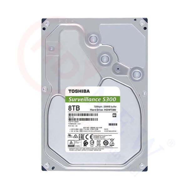 Ổ cứng Toshiba S300 8TB (HDWT380UZSVA)   HDnew - Chia sẻ đam mê
