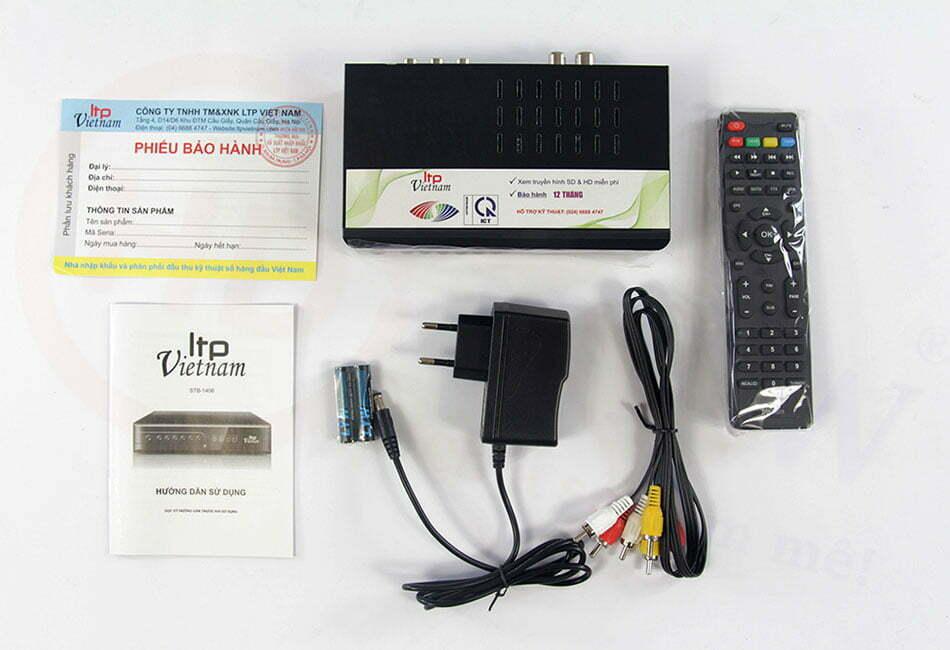 Đầu thu DVB-T2 LTP STB-1406 | HDnew - Chia sẻ đam mê