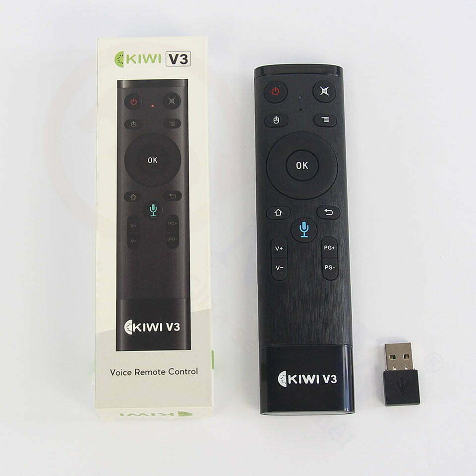 Điều khiển không dây Kiwi V3 tích hợp voice | HDnew - Chia sẻ đam mê