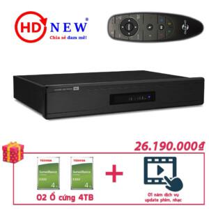 Trọn bộ Đầu Dune HD Max 4K và 02 Ổ cứng gắn trong 4TB | HDnew - Chia sẻ đam mê
