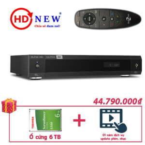 Trọn bộ Đầu Dune HD Ultra 4K và Ổ cứng gắn trong 6TB | HDnew - Chia sẻ đam mê