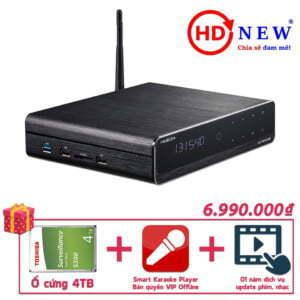 Trọn bộ Đầu HiMedia Q10 Pro, Ổ cứng gắn trong 4TB và SKPlayer Pro Vip Offline | HDnew - Chia sẻ đam mê