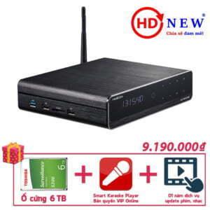 Trọn bộ Đầu HiMedia Q10 Pro, Ổ cứng gắn trong 6TB và SKPlayer Pro Vip Online | HDnew - Chia sẻ đam mê