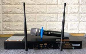Micro karaoke không dây VinaKTV S500 Pro   HDnew Audio