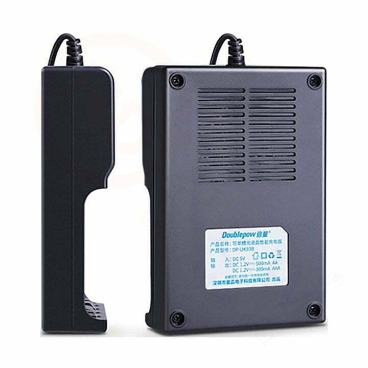 Bộ sạc pin Doublepow UK93B (có LED hiển thị) | HDnew - Chia sẻ đam mê