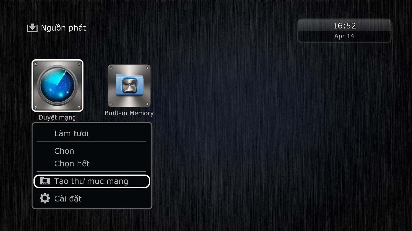 Hướng dẫn kết nối đầu Dune HD tới ổ đĩa mạng | HDnew - Chia sẻ đam mê