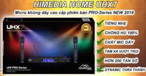 Micro Karaoke không dây HiMedia Home UHX7 | HDnew - Chia sẻ đam mê