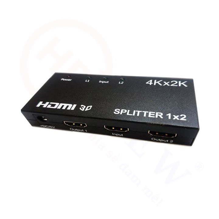 Bộ chia HDMI 1 vào 2 ra hỗ trợ 4K, 2K, 3D cao cấp | HDnew - Chia sẻ đam mê