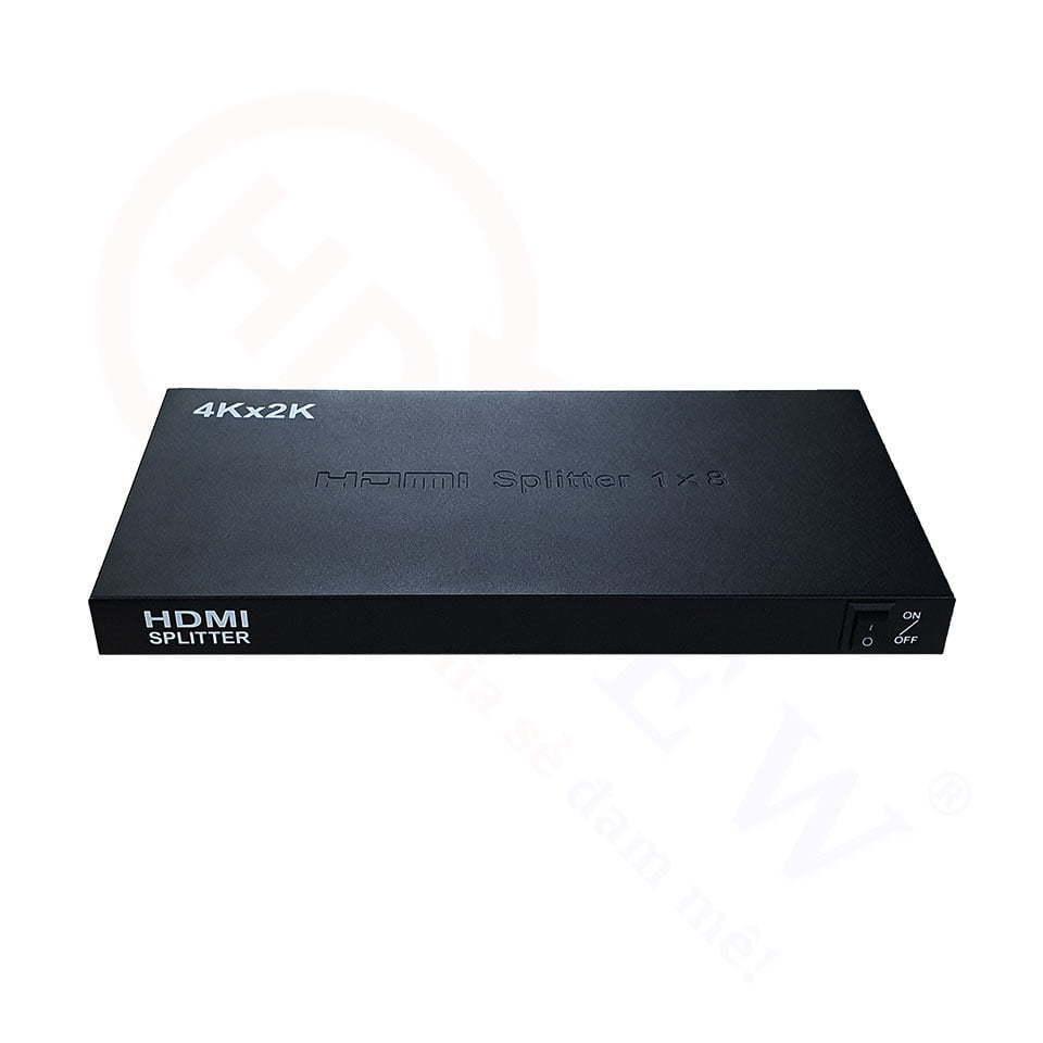 Bộ chia HDMI 1 vào 8 ra hỗ trợ 4K, 2K, 3D cao cấp | HDnew - Chia sẻ đam mê