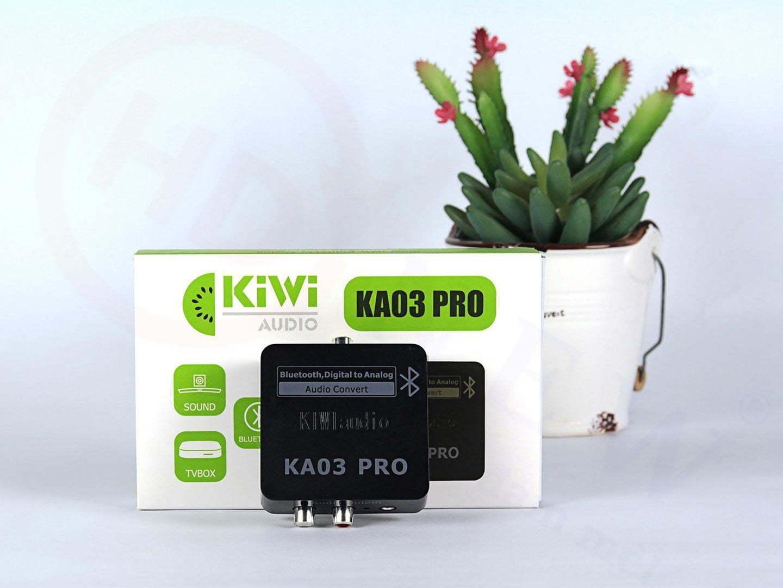 Bộ chuyển đổi âm thanh Digital sang Analog Kiwi KA03 Pro chính hãng, hỗ trợ Bluetooth   HDnew - Chia sẻ đam mê