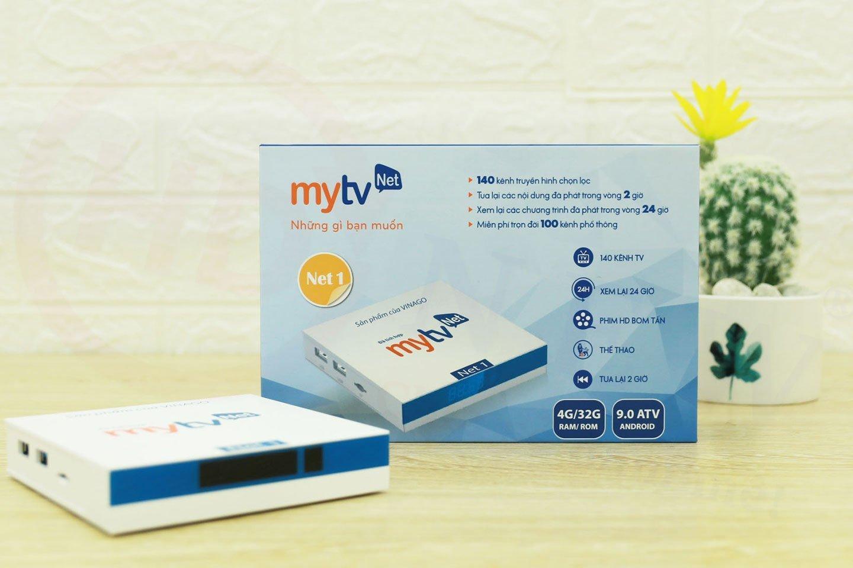 Android Box MyTVNet Net 1 4GB 2020 - cấu hình cao cấp, Android TV 9.0   HDnew - Chia sẻ đam mê