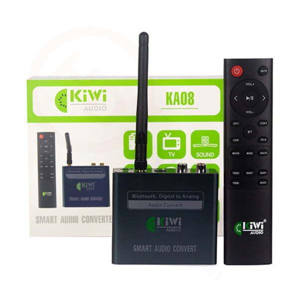Kiwi KA08 | Bộ chuyển đổi âm thanh Digital sang Analog | HDnew - Chia sẻ đam mê
