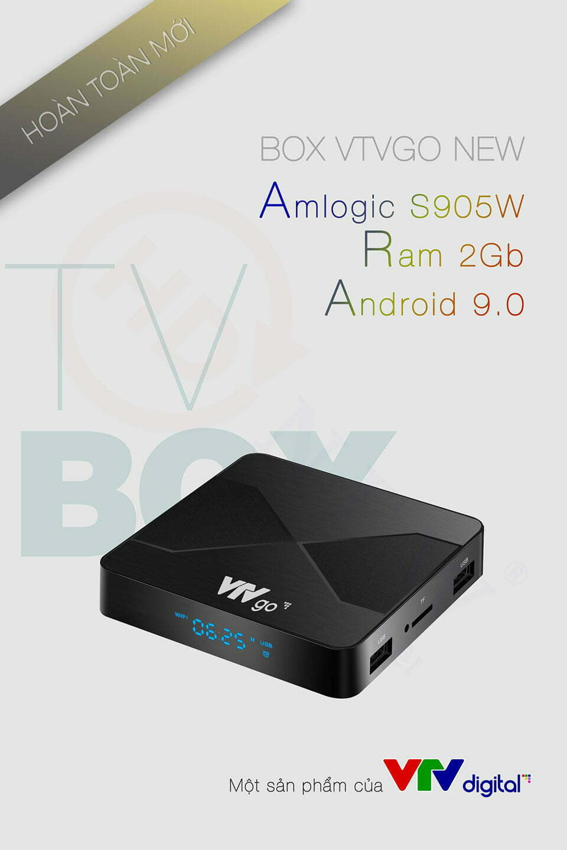 Box VTVGo New 2021 - Amlogic S905W, 2GB RAM, Android 9.0 | HDnew - Chia sẻ đam mê