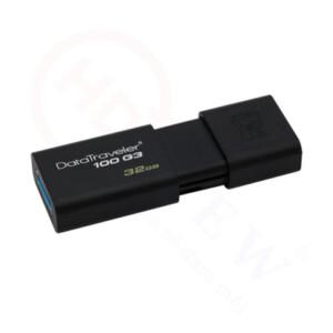 Kingston DataTraveler 100 G3 (DT100G3) 32GB | Ổ USB 3.0 có nắp trượt | HDnew - Chia sẻ đam mê