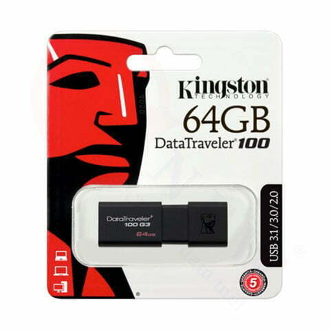Kingston DataTraveler 100 G3 (DT100G3) 64GB | Ổ USB 3.0 có nắp trượt | HDnew - Chia sẻ đam mê