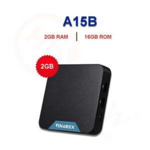 VinaBox A15B (2021)   2GB RAM, 16GB ROM, Android TV 10 OS   HDnew - Chia sẻ đam mê