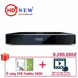 Trọn bộ Đầu Dune HD Pro 4K II và Ổ cứng Toshiba S300 2TB | HDnew - Chia sẻ đam mê