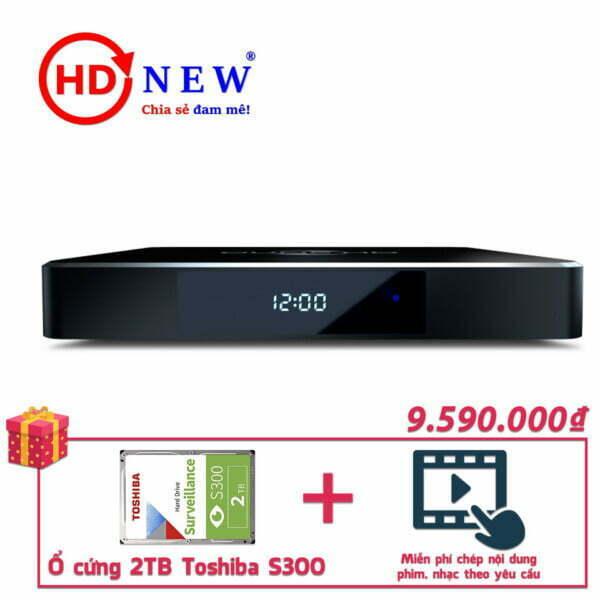 Trọn bộ Đầu Dune HD Pro 4K II và Ổ cứng Toshiba S300 2TB   HDnew - Chia sẻ đam mê