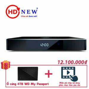 Trọn bộ Đầu Dune HD Pro 4K II và Ổ di động WD My Passport 4TB   HDnew - Chia sẻ đam mê