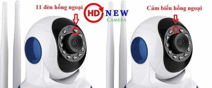Camera Vitacam VT720 Wi-Fi 1MP (HD 720p) - HDnew
