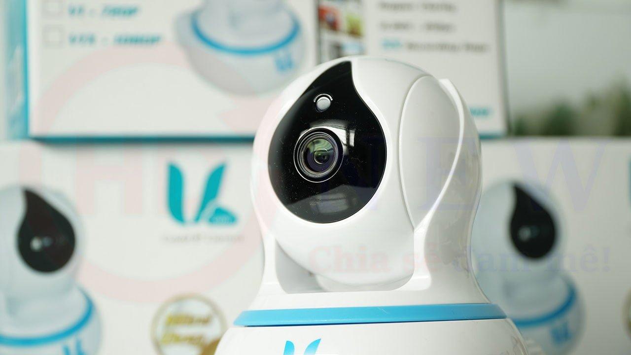 Vcam V1 - Camera IP Wi-Fi 1MP (HD 720p) trong nhà | HDnew Camera